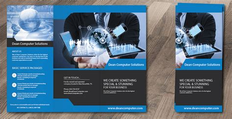 Home Based Graphic Design Jobs modern professional brochure design for dean computer