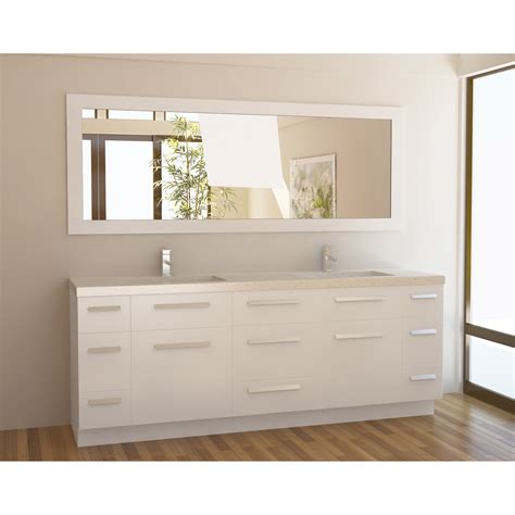 white double bathroom vanity 84 inch bathroom vanity the variants homesfeed