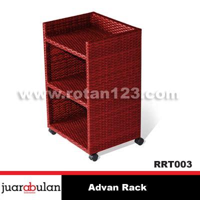 Rak Rotan harga jual advan rack rak rotan sintetis rrt003 model gambar