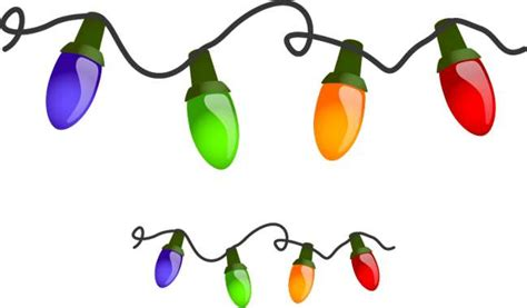 christmas lights clipart best