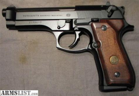 beretta 92fs wood grips armslist for sale beretta 92f 9mm with wood grips