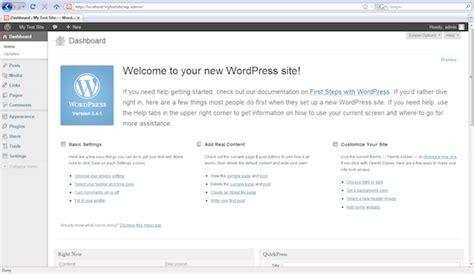 tutorial wordpress offline pdf how to create a local wordpress website in windows with