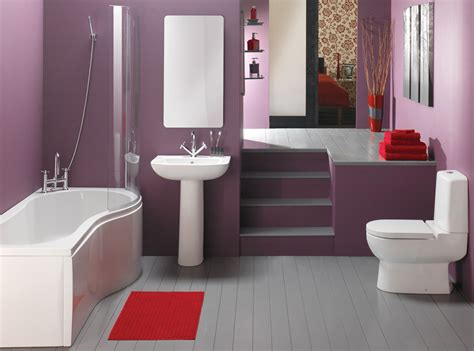 red and purple bathroom bathroom modern cute bathroom ideas for small space