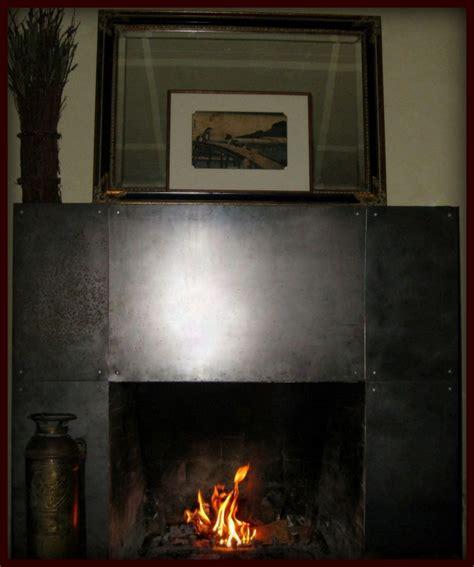 Steel Fireplace Mantel by Custom Steel Fireplace Mantel By Napa Valley Custom Metal