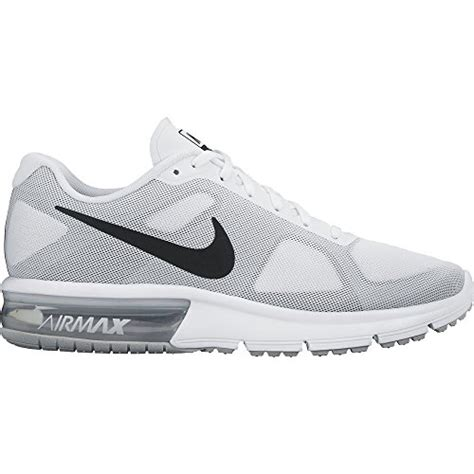 white nike mens running shoes nike air max sequent mens running shoes white new in box
