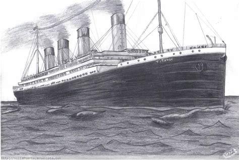 imagenes de barcos a lapiz julian frbs dibujos del titanic