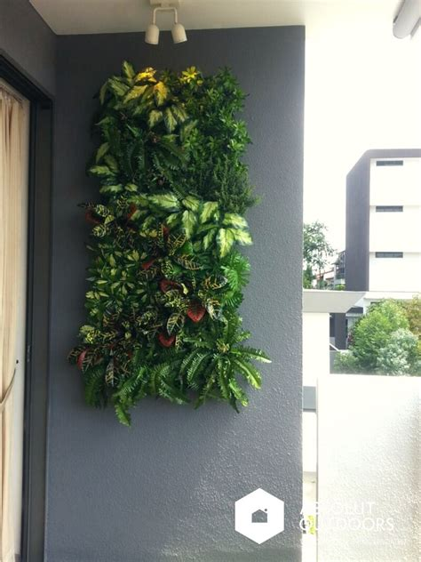 Artificial Green Wall Inspiration Absolut Outdoors Balcony Wall Garden