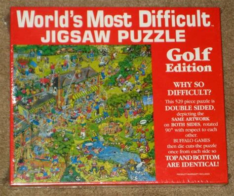 difficult printable jigsaw puzzles for sale golf edition world s most difficult jigsaw