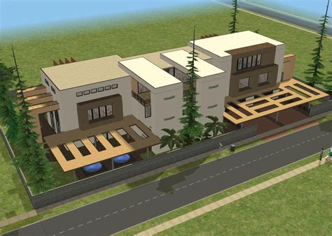 how to buy a new house in sims 3 sims 2 modern house by ramborocky on deviantart