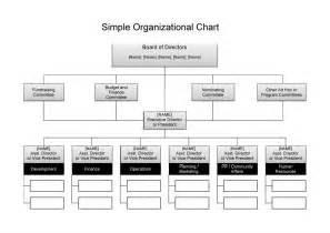 Simple Organization Chart Template by 25 Best Free Organizational Chart Template In Word Pdf Excel