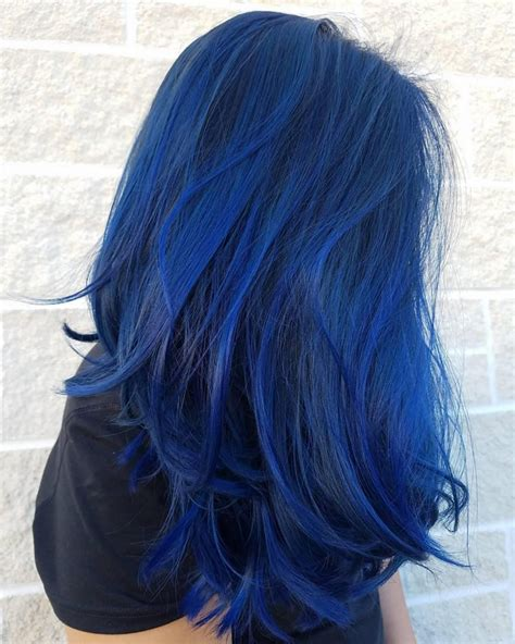 blue hair colors pin by lashayna bee on look at that color hair hair