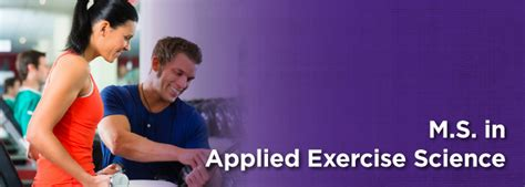 Exercise Science To Mba by Master S In Exercise Science Ashland