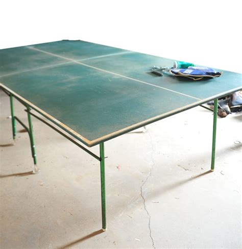 regulation size ping pong table ebth