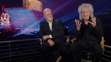 brian may cameo bohemian rhapsody brian may roger taylor behind the