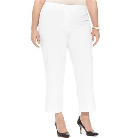 clothing legs s intl inc international concepts plus size cropped straightleg