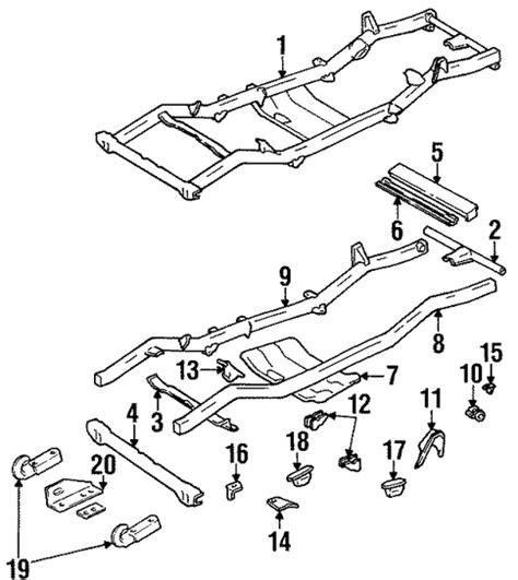 Jeep Factory Parts Side Rail Bracket Mopar 52040325