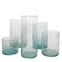 glass cylinder vase household hardware