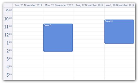 Java Calendar 0 Hour Daypilot Lite For Java 1 0 Daypilot For Java Calendar