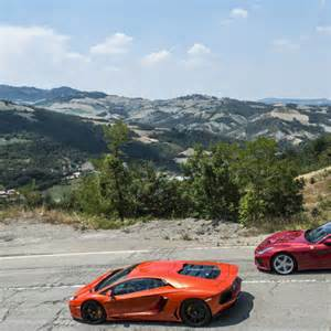 F12 Vs Lamborghini Aventador F12 Vs Lamborghini Aventador Comparison Test