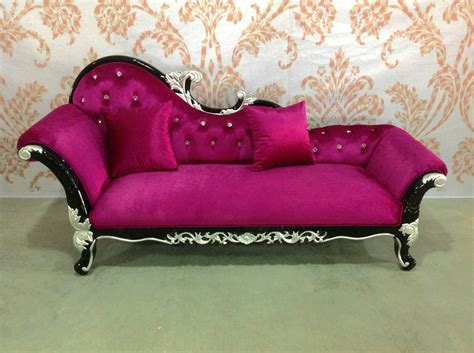 Lounges With Chaise Chaise Lounge Chaise Loung Sofa Bed Pink Velvet Chaise