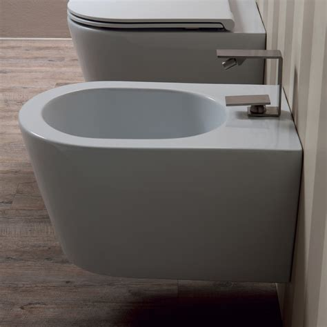 bidet italy suspended design ceramic bidet sun 57x37cm made in