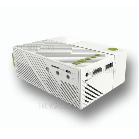 Proyektor Yg310 yg310 led mini projector 1080p hd resolution smart home cinema theater projector us