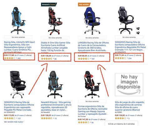 comprar sillas segunda mano sillas gamer de segunda mano 161 ahorra hasta un 50