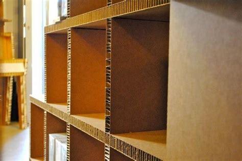 mobili cartone come costruire dei mobili di cartone modulari e fai da te