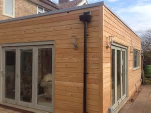 External Timber Cladding Beaumont Road Cambridge Larch Clad Timber Frame Extension