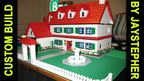 CUSTOM BUILD   3 Bedroom 2 Bath Lego Home   YouTube
