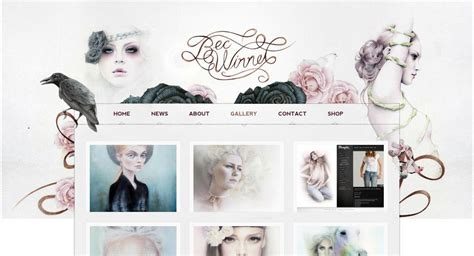 layout artist portfolio 27 beautiful portfolio website design exles that will