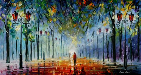 Drawing Or Painting by Leonid Afremov S Modern Impressionistic Paintings Hd