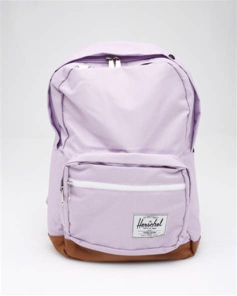 light pink herschel backpack bag lavendar lavender light purple backpack purple