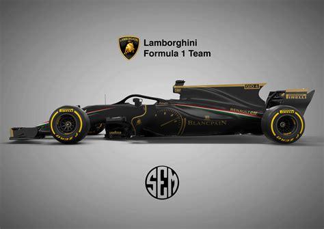 Lamborghini F1 by Lamborghini F1 Concept Mistake Removed Formula1