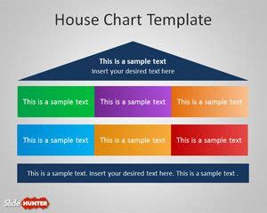 house chart template free house chart diagram for powerpoint free powerpoint