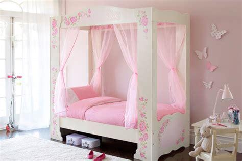 Pink princess girls bedroom ideas furniture wallpaper