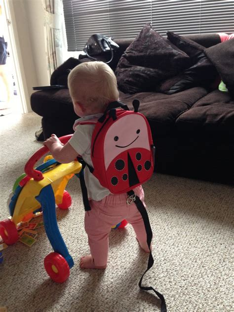 Skiphop Zoo Let Mini Backpack With Rein Bee skip hop zoo let ladybug bag with reins what mummy thinks