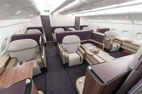 Qatar A380 Cabin by Qatar Airways Unveils A380 Class