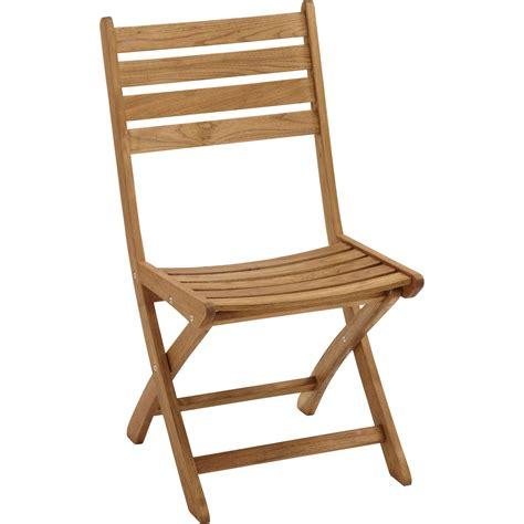 chaises pliantes bois lot de 2 chaises de jardin en bois robin naturel leroy