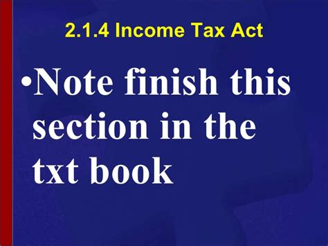 section 55 2 of income tax act ncv 4 new venture creation hands on support slide show