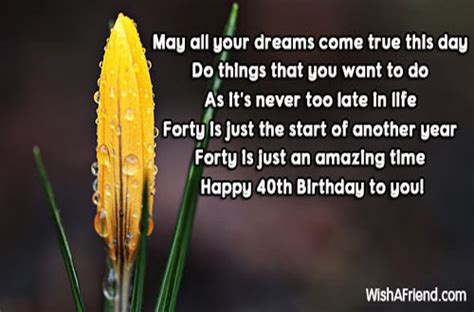Elkes Come True Day 2 by 40th Birthday Wishes Page 2
