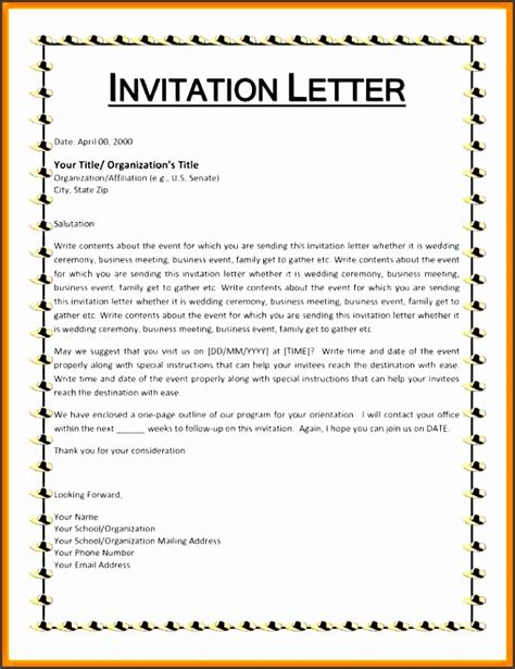 my wedding invitation letter format invitation letter chatterzoom
