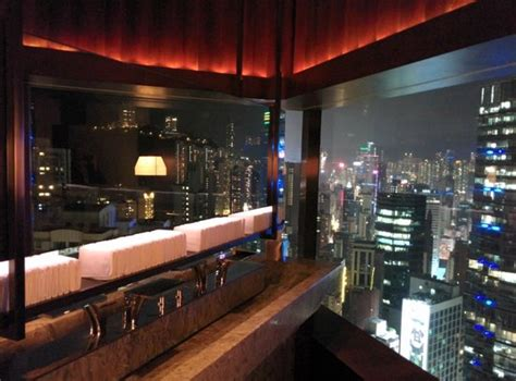 grey cafe view from cafe gray restrooms picture of cafe gray deluxe hong kong tripadvisor