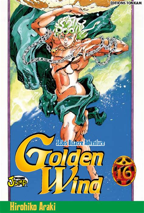 Jojo S Adventure Vol 16 couvertures jojo s adventure golden wind