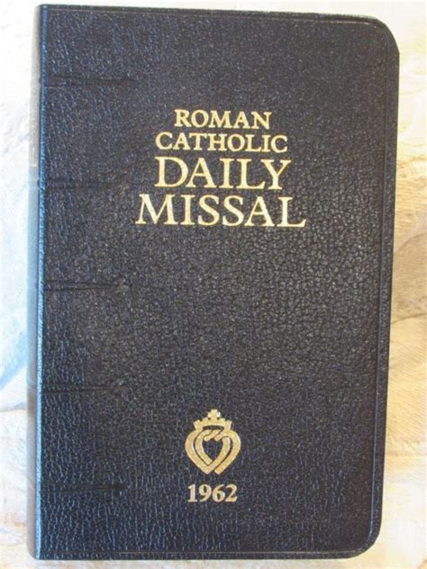 the roman missal 1962 english and latin edition roman latin missal shop collectibles online daily