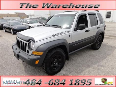 silver jeep liberty 2007 2007 jeep liberty sport 4x4 in bright silver metallic
