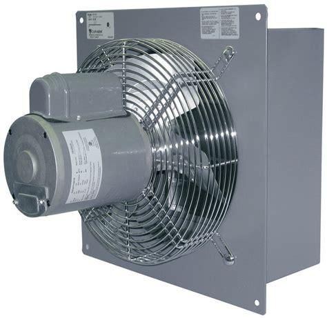 Fan Exhaust Besi Industrial 16 canarm s18 fvd 18 quot shutter mounted wall exhaust fan 3150 cfm industrial fans direct