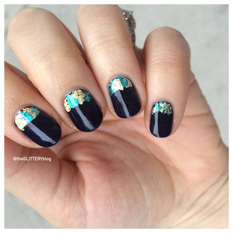 nail art tutorial new year new year s eve nail art tutorial