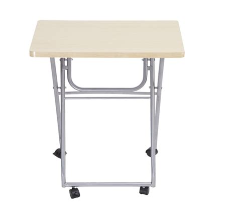 folding rolling computer desk student home office