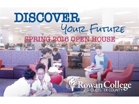 Rowan Open House by Rowan College At Gloucester County Open House March 22nd